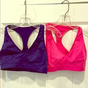 Set of 2 Under Armour Sports Bras M